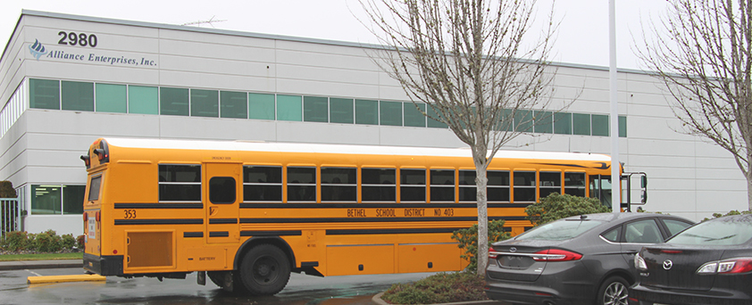 IGNITE school bus field trip to Alliance Enterprises photo