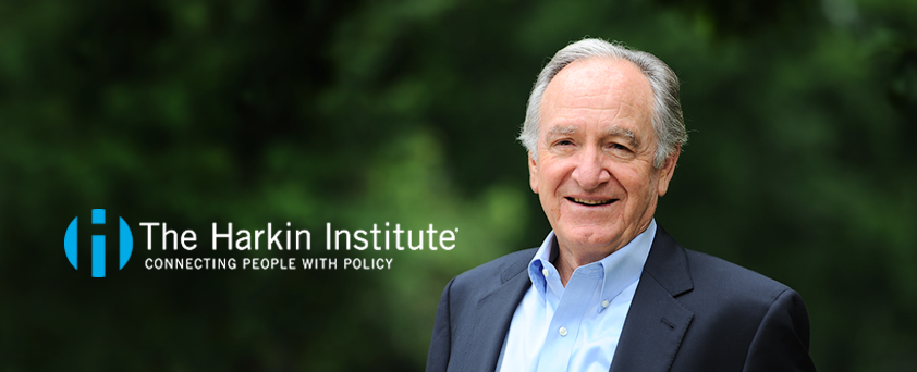 The Harkin Institute banner graphic